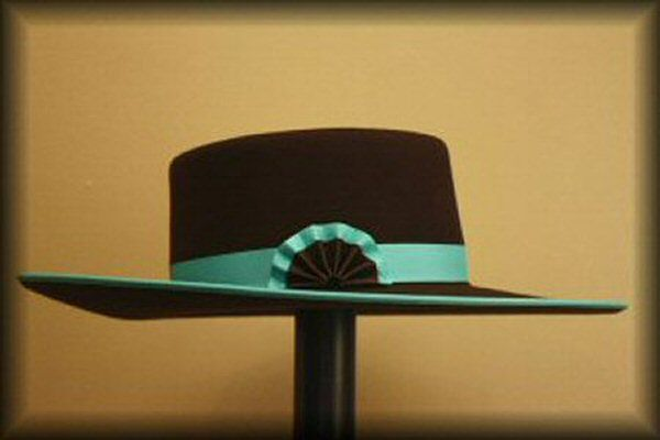 Buckaroo Hats. Love the colors,  even though it wouldn't match with everything.