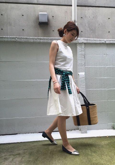 ストライプ&ボーダー 着まわしコーデ の画像|yokoオフィシャルブログ「プチプラコーデ術」Powered by Ameba