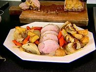 Get this all-star, easy-to-follow Roast Loin of Pork with Fennel recipe from Ina Garten