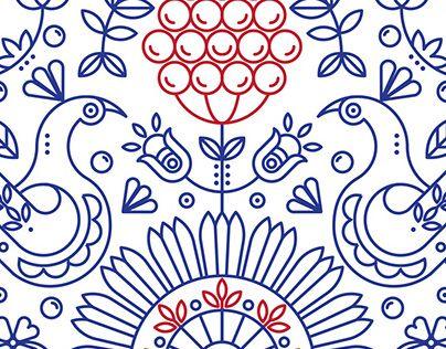 Podívejte se na tento projekt @Behance: \u201cEthnic pattern\u201d https://www.behance.net/gallery/21292613/Ethnic-pattern