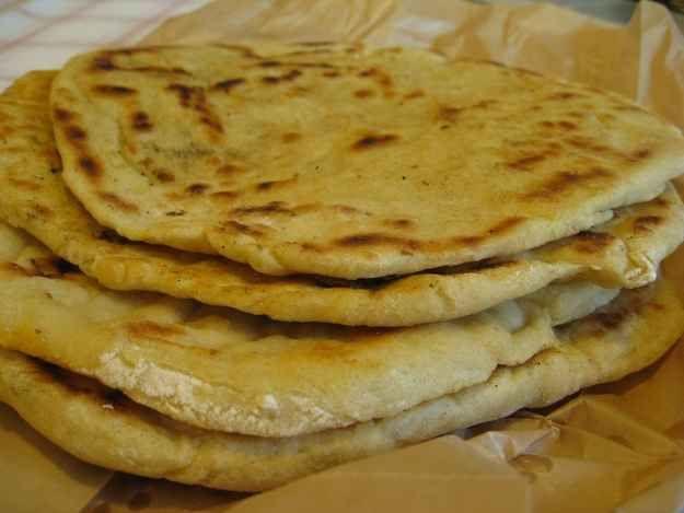 Perunarieska (potato flatbread).