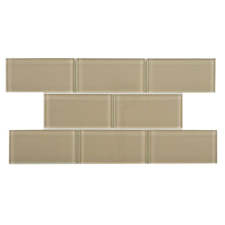 I Ve Always Loved Subway Tile This Might Be A More Subtle Match For Backsplash Merola Tessera Sandstone 6 In X 8 Mm Gl Wall Pack Of