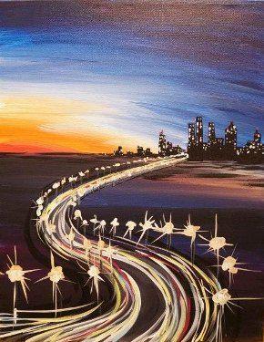 The Drive | Splash Studio Painting
