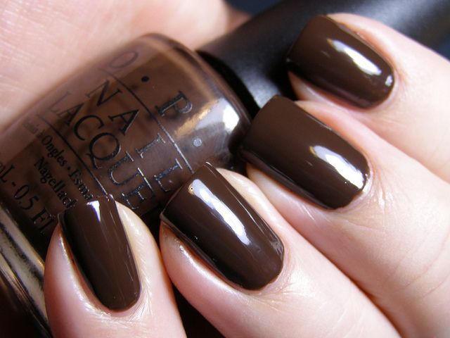 OPI Suzie Loves Cowboys - Of couse I love this one. It's part of the Texas collection . Its an awesome brown.
