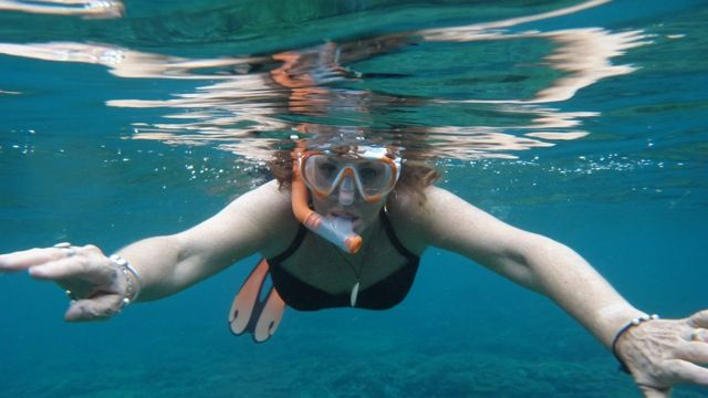 Diving in the tropical waters - explore our coral reefs with abundant marine life.  If you prefer being on top of the water then we have wonderful surfing with a break right off the beach.