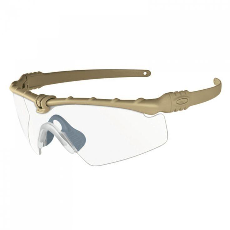 Oakley SI Ballistic M Frame 3.0 dark bone klar| Die Ballistic M Frame 3.0 ist Teil der Standard Issue-Linie von Oakley, die sich exklusiv an Militärangehörige und zivile Polizei- und Rettungskräfte richtet.