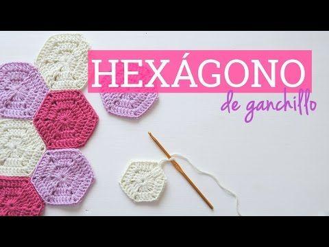 Como unir los cuadros tejidos a crochet para colchas y cojines - YouTube