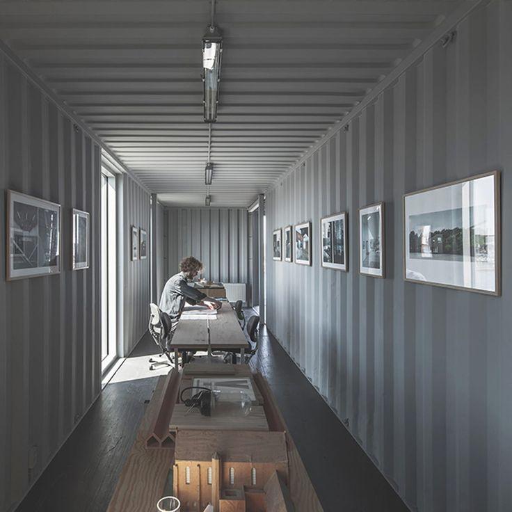 Deckenle Industriedesign 14 besten the arcgency pop up shipping container offices bilder auf