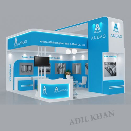 Exhibition Stall Designer Job In : D stall design by adil khan at coroflot exhibition