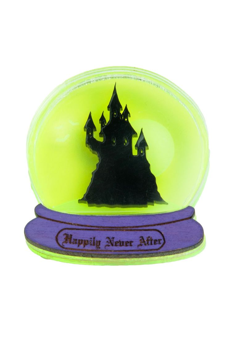 Happily Never After Brooch - Exclusive Purple
