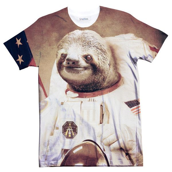 A slothstronaut. | 16 Sloth-Centric Wardrobe Ideas You Have To Own