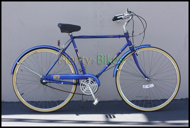 I love how these vintage Free Spirit road bikes look! Here