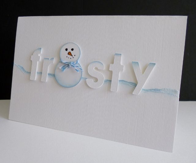 F4A228 ~ Frosty by sistersandie - Cards and Paper Crafts at Splitcoaststampers