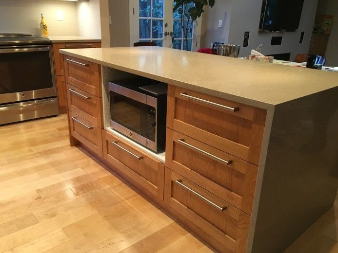 We Designed This Ikea Kitchen With A Custom Island