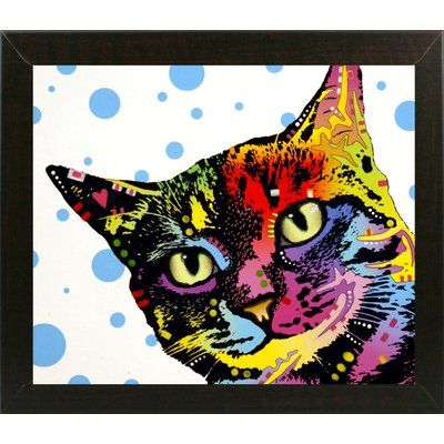 East Urban Home 'The Pop Cat' Graphic Art Print Format: