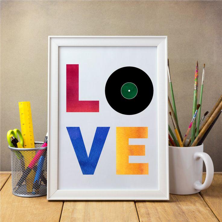 Drucken, Rekord Wandkunst, Musik Wandkunst, Datensatz drucken, Wasserfarben bedruckbare, Musik Print, Musik Wand Kunst druckbare von GraphicWispPrints auf Etsy https://www.etsy.com/de/listing/287683341/drucken-rekord-wandkunst-musik-wandkunst