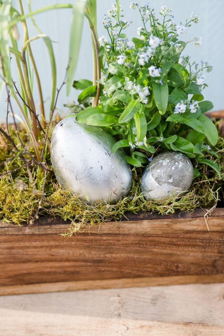Eastereggs DIY, Beton, Pomponetti