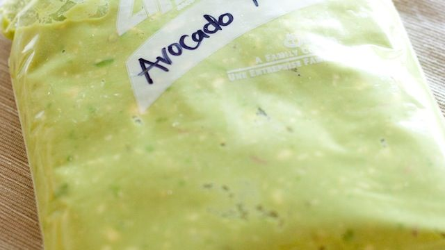 Preserve Avocados for a Year by Mashing and Freezing Them. Cool! Now I just need to find out when peak avocado season is :)