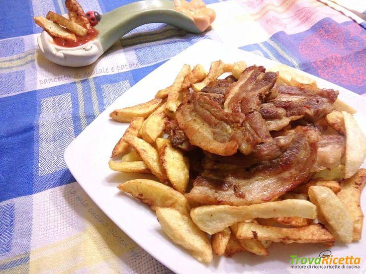 Pancetta di maiale e patate  #ricette #food #recipes
