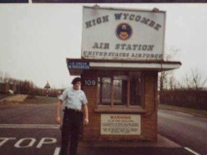 The base where we lived in High Wycombe, England...it is now a RAF base.