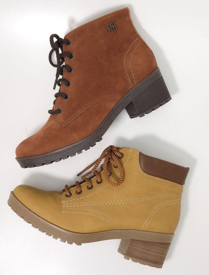 boots - botas - coturnos - botas de cano curto - cores - Ref. 16-4905 | 16-4906