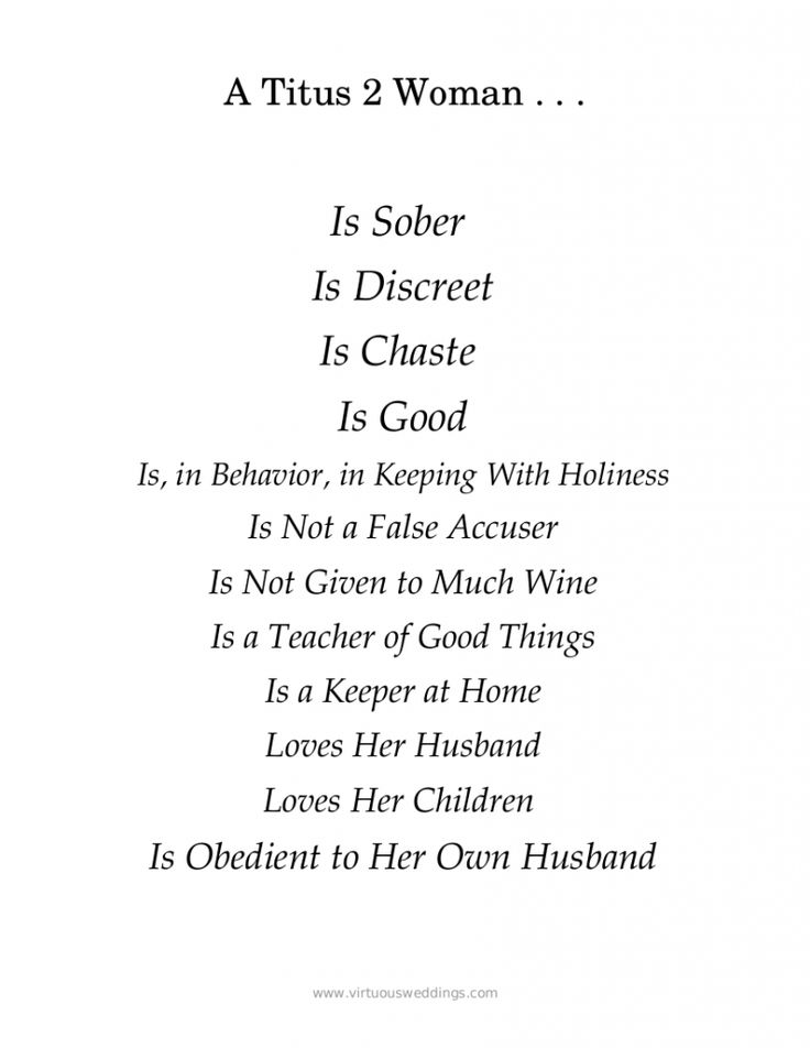 Characteristics of a Titus 2 Woman {Free Printable} | Godly Womanhood | Biblical Womanhood |
