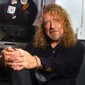 Robert Plant of Led Zeppelin.
