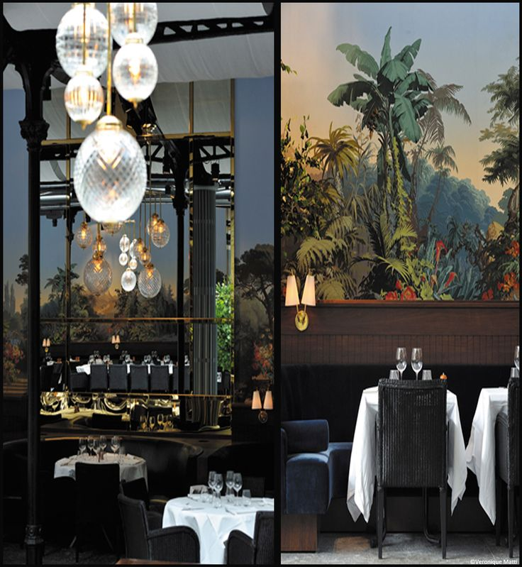 restaurant la gare exotique.laura gonzales