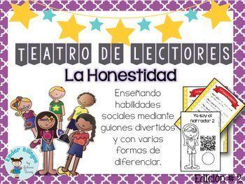 Teatro de lectores- 02 La Honestidad (Readers' Theater in Spanish)
