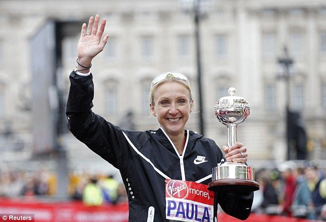 Paula Radcliffe ends illustrious marathon career in London #dailymail