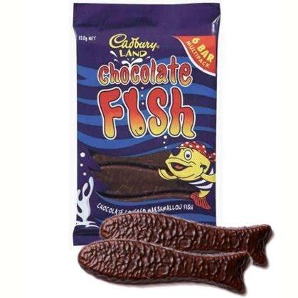 """Otro clásico en Nueva Zelanda, el """"chocolate fish"""""""