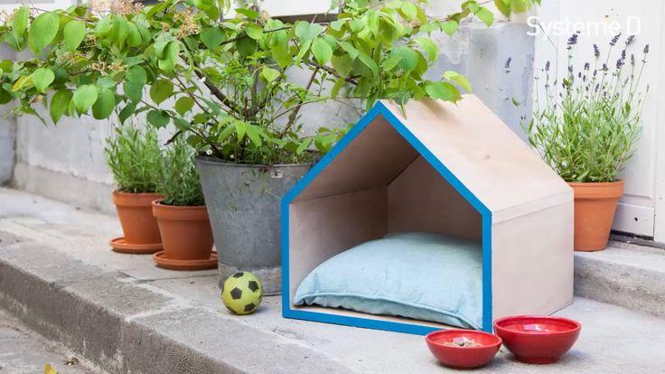 17 best images about animaux on pinterest cats easy diy - Fabriquer panier pour chien ...