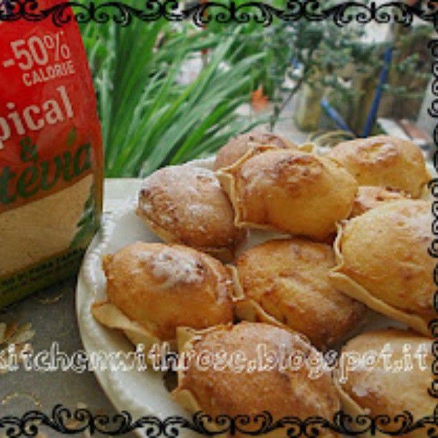 I dolcetti Tropical e Stevia di Sistersinkitchen01 via Instgram #eridanialovers #dolcetti #zuccherodicanna #stevia #dolcificante #light #ricetta #foto