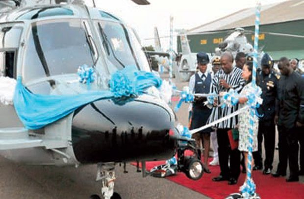 One of the helicopters being commissioned by the former President Mahama in 2015 A leading member of the Public Interest and Accountability Committee (PIAC), Dr Steve Manteaw, has claimed threeRead More...