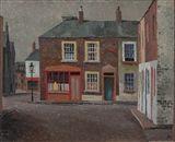 Colin Middleton - THE MARKETS, BELFAST, Circa 1941...