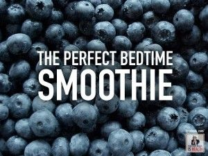 HINT | The perfect night time smoothie