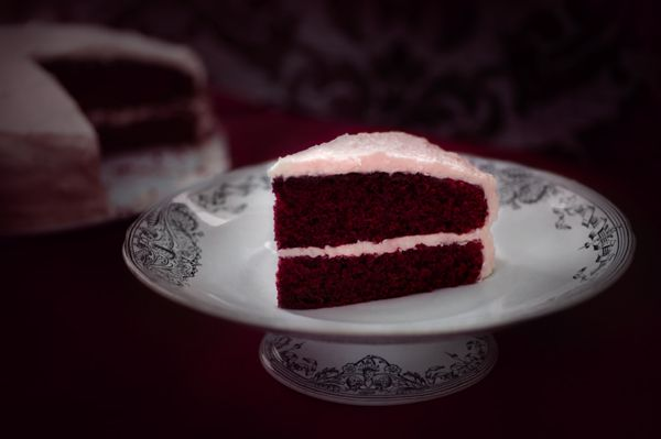 """Blood Velvet Cake"" - lightjet photograph by Jonathan Cameron"