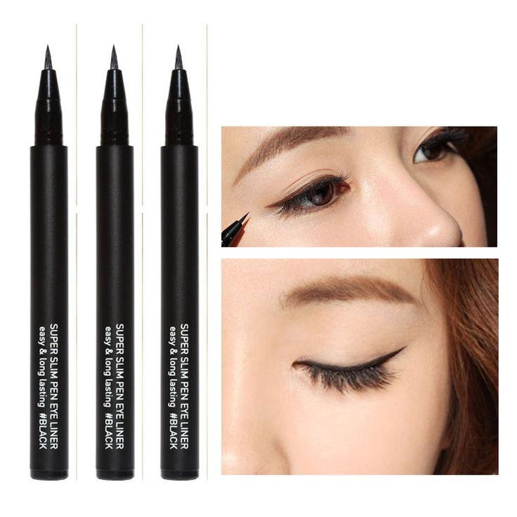 3CE 3 CONCEPT EYES BLACK SUPER SLIM PEN EYE LINER Korean cosmetics #3CE