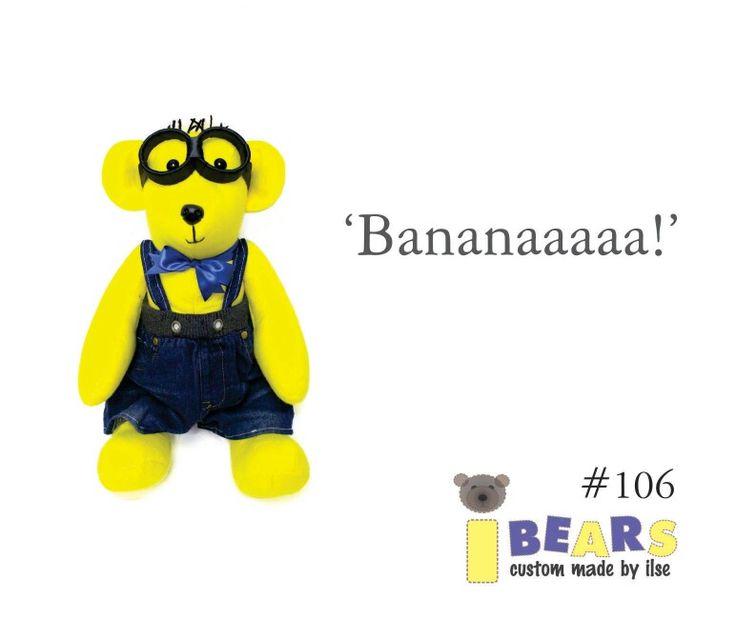 #106 #minion #banana #teddy #bear #kids