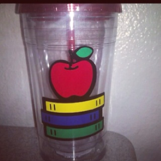 Teacher Appreciation cup: Appreciation Cups, Teacher Appreciation, Teachers Appreciation