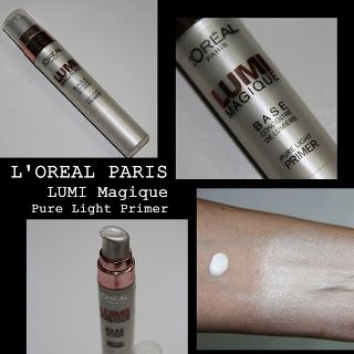 MichelaIsMyName: L'OREAL PARIS LUMI Magique Pure Light Primer REVIE...