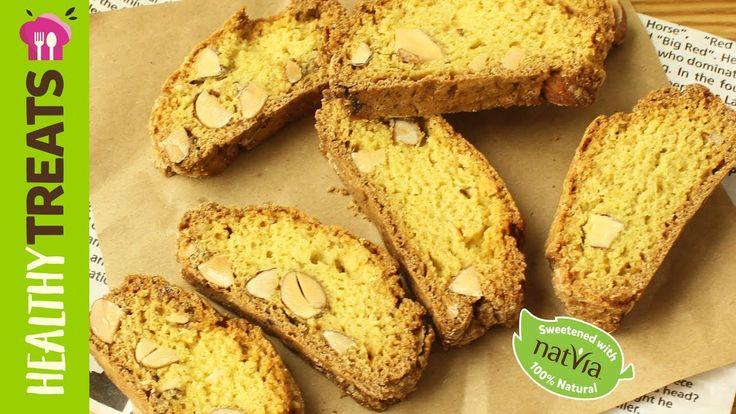 #SugarFree #Biscotti - #Natvia #Healthy Treats