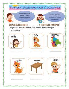Sustantivos Idioma: español (o castellano) Curso/nivel: 3° primaria Asignatura: Lengua española Tema principal: Sustantivos Otros contenidos: Carta Formal