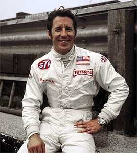 Mario Andretti - Best driver ever. Indy 500 Champ, Daytona 500 Champ, Formula 1 World Championship, IROC Champ