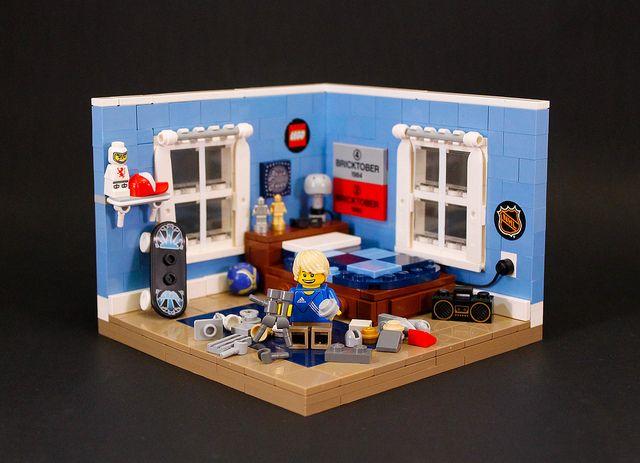 100 best Lego-Furniture+Rooms images on Pinterest