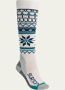 Burton Women's Ultralight Wool Snowboard Sock