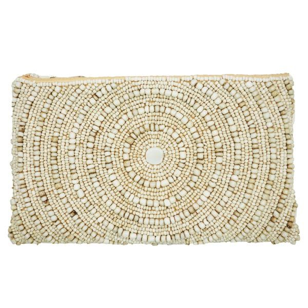 Beaded Swirl Purse from St. Barts
