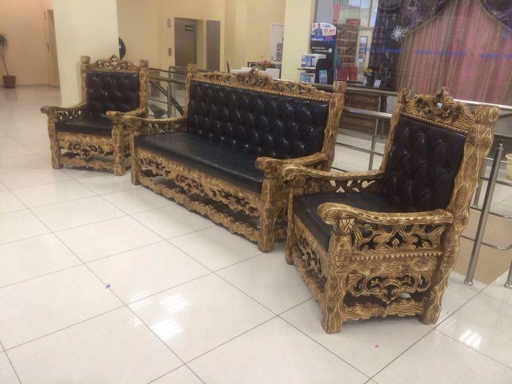 Мебель из массива ручной работы