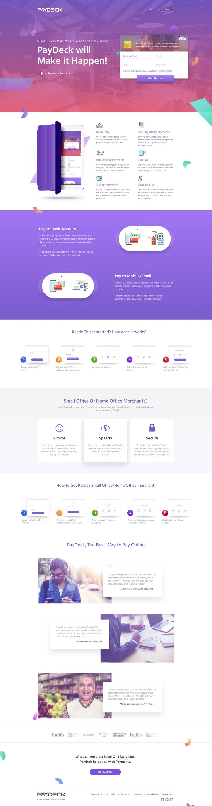 Landing page v 5.1 - - - re-pinned by templatemo
