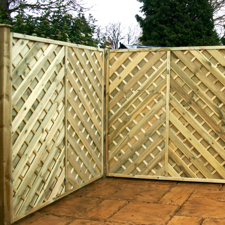 121 best Fencing images on Pinterest   House porch, Decks and Gardening